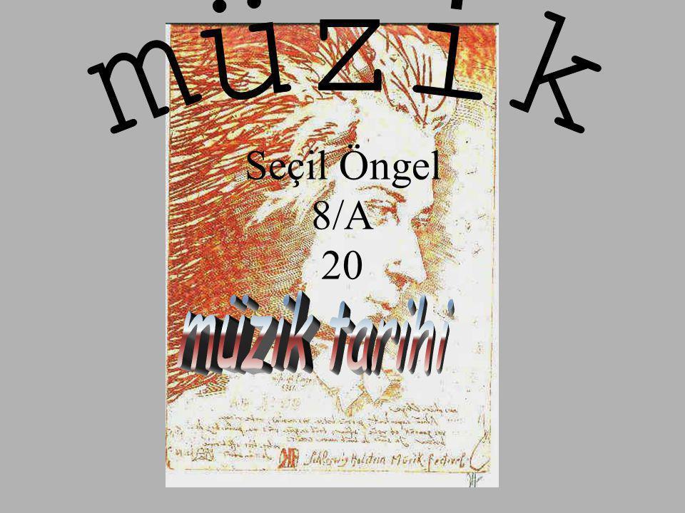 •Bu da, kadanslar veya armonik geri planlar üzerine doğal olarak solistlik yapan, melodiyi ortaya çıkardı.