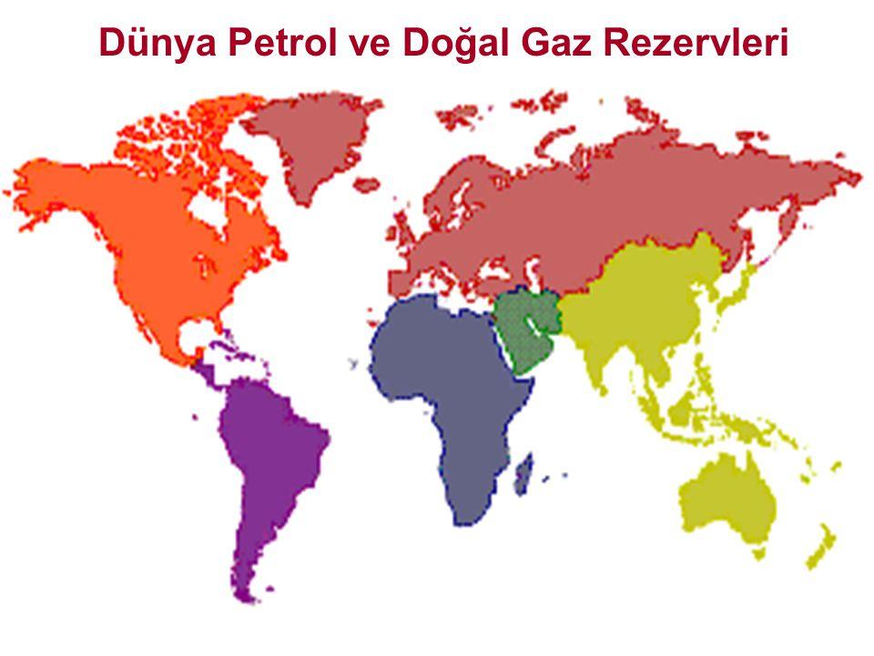 Bölgelerarası Petrol Ana Ticaret Yolları 2030 yılına kadar, ilave ihracatın büyük çoğunluğu Ortadoğu'dan sağlanacak ve bölgelerarası petrol ticareti iki kat artacaktır Net ticaret- 2002Net ticaret- 2030 OECD Pasifik Gelişmekte olan Asya Orta Doğu OECD Avrupa Afrika Latin Amerika OECD K.AmerikaGeçiş Ekonomileri Kaynak: World Energy Outlook, 2004.