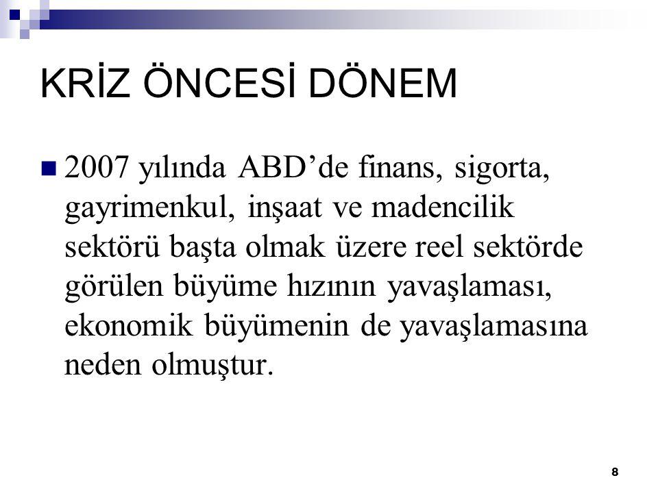 19 TÜRKİYE EKONOMİSİ VE KÜRESEL KRİZİN BOYUTLARI  Türkiye'de enflasyon hedeflemesi modeli gerekliydi ancak ekonomistler erken geçildiğini düşünmekte.