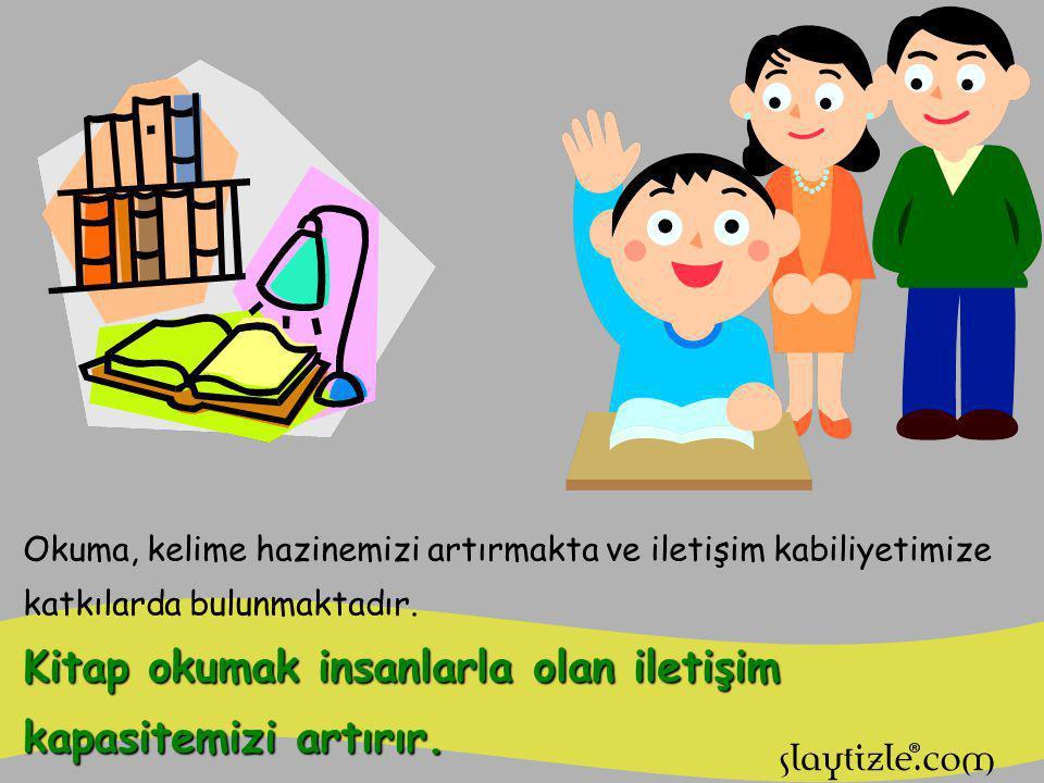 Kitap okumak düşüncelerimizi geliştirir, zenginleştirir. Kitap okumada düşünme, bilgi ile birlikte gelişir.
