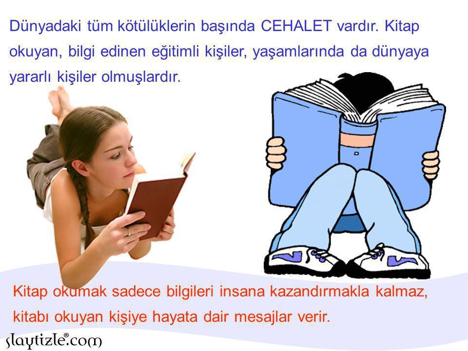 Kitap okumak, okuma hızımızı da artırır.