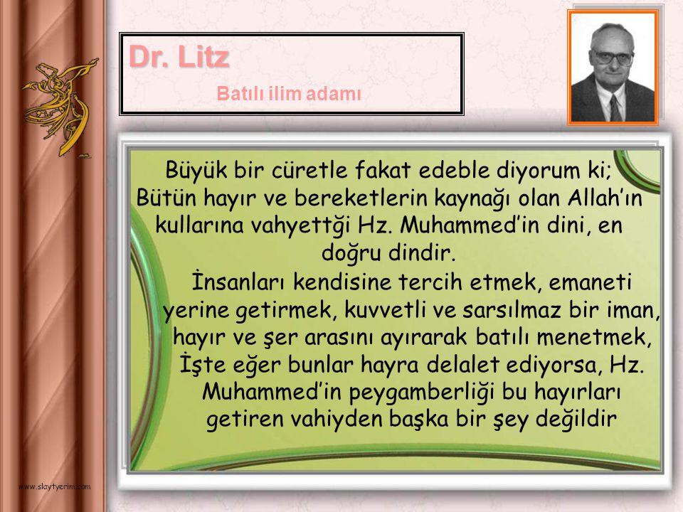 İslamlığın başlangıcının tarihi üzerinde insan ne kadar düşünürse, onun gerçekleştirdiklerinin büyüklüğü karşısında o kadar şaşmamasına imkan yoktur..