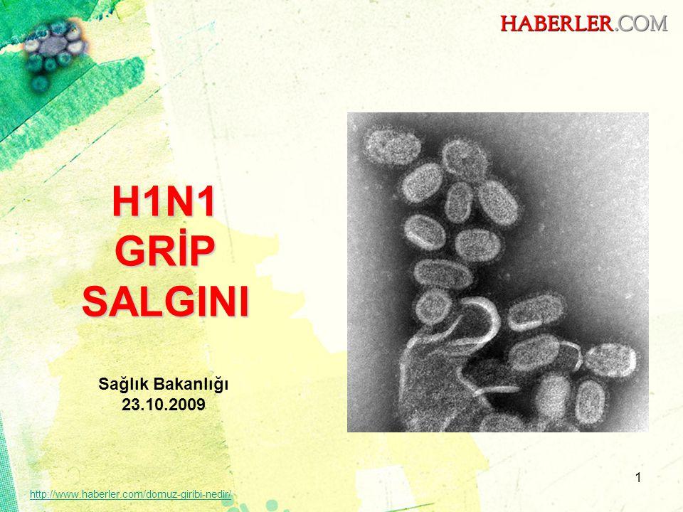 Sunum Planı •Konu Başlıkları ve Sunum Sayfaları –Genel Bilgiler (3-5), –Pandemik H1N1 gribi (6-9), –Dünyadaki durum (10-13), –Ülkemizdeki durum (14-16), –Pandemi hazırlıklarımız (17-21), –Pandemik grip aşısının seyri (22-23), –Pandemik grip aşısı (24-32), –Korunma ve salgın döneminde alınacak diğer tedbirler (33-35), –İletişim (36-39).