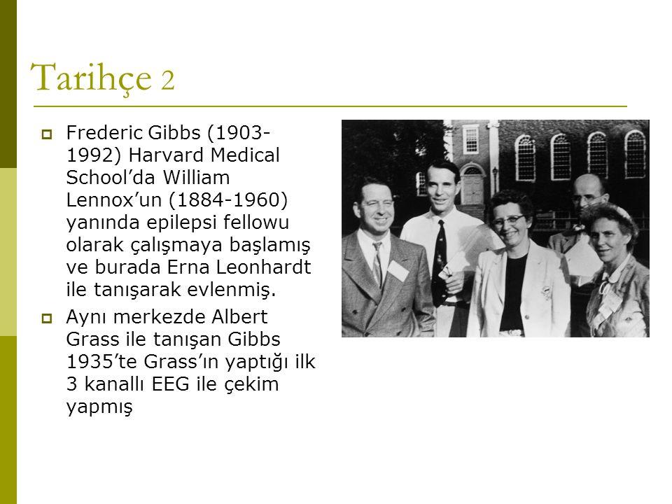EEG ve yaş EEG <3 yaş>3 yaş SayıAnormal (%) SayıAnormal (%) Uyanıklık91 (11)11366 (56) Uyku304 (13)218 (38) Her ikisi498 (16)9951 (52) Toplam8813 (15)233122 (53) Shinnar, 1994