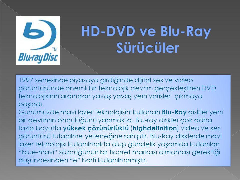1997 senesinde piyasaya girdiğinde dijital ses ve video görüntüsünde önemli bir teknolojik devrim gerçekleştiren DVD teknolojisinin ardından yavaş yav