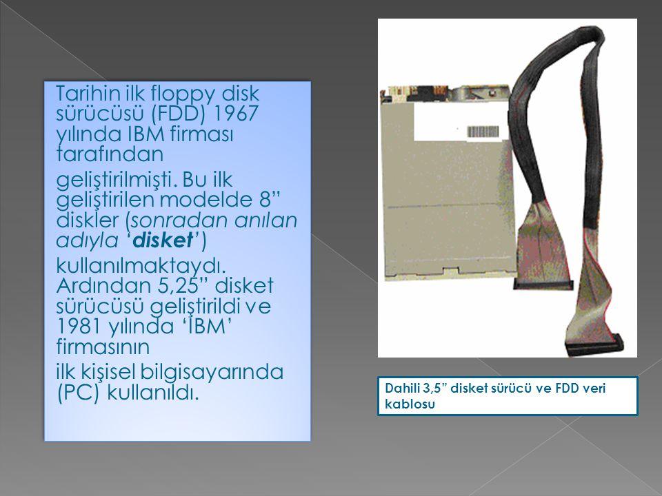  CD-ROM sürücülerden farklı yönleri CD lere yazım yapabilmeleridir.