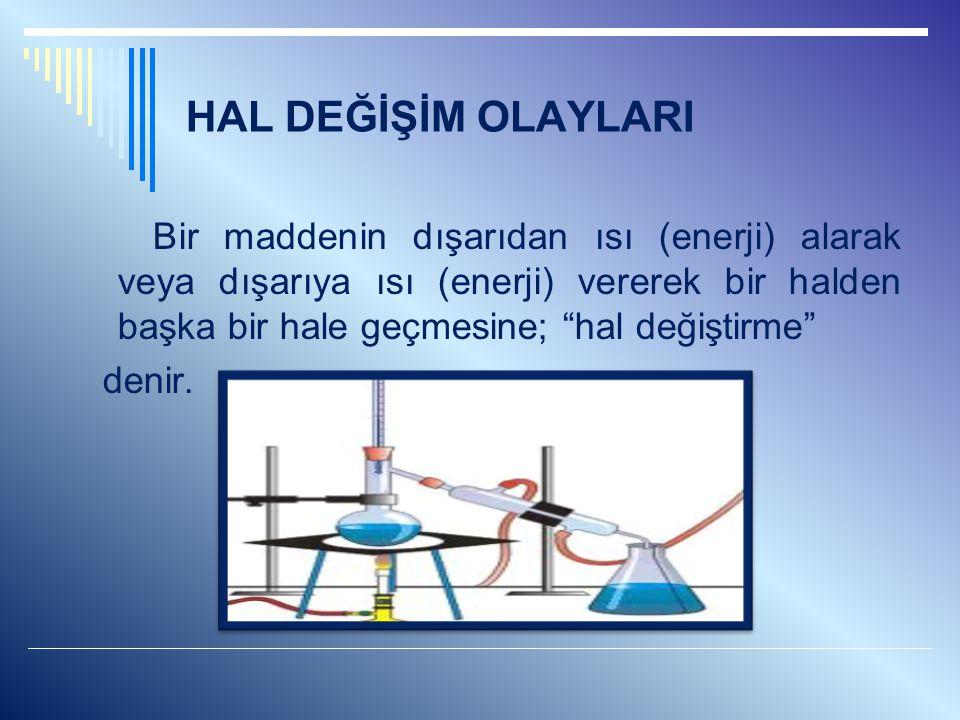 ÖZ KÜTLE (YOĞUNLUK) Maddelerin 1 cm3'ünün gram cinsinden kütlesine öz kütle denir.