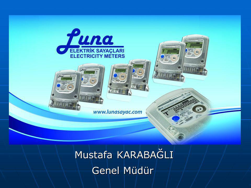 Mustafa KARABAĞLI Mustafa KARABAĞLI Genel Müdür Genel Müdür