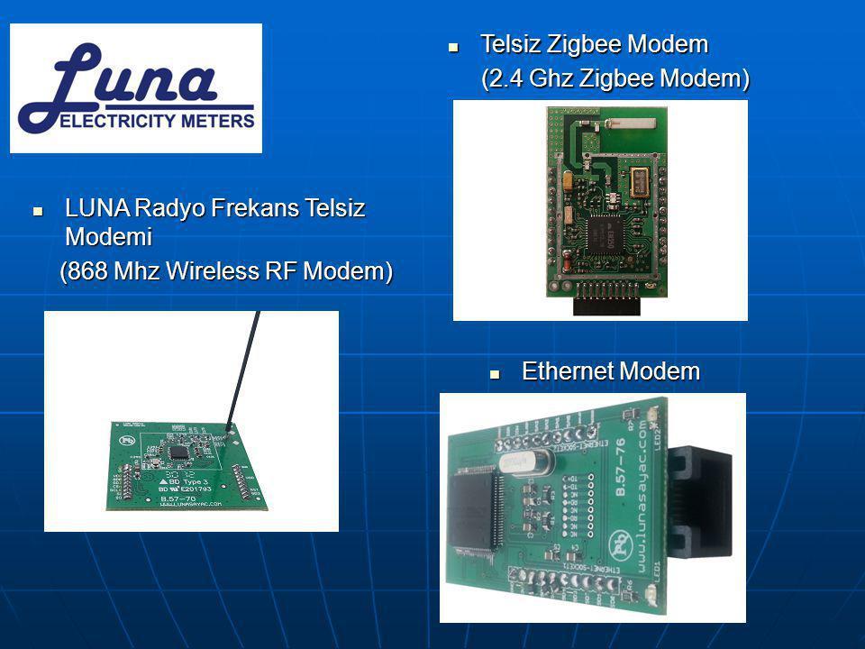 LUNA Radyo Frekans Telsiz Modemi (868 Mhz Wireless RF Modem) (868 Mhz Wireless RF Modem)  Telsiz Zigbee Modem (2.4 Ghz Zigbee Modem) (2.4 Ghz Zigbe
