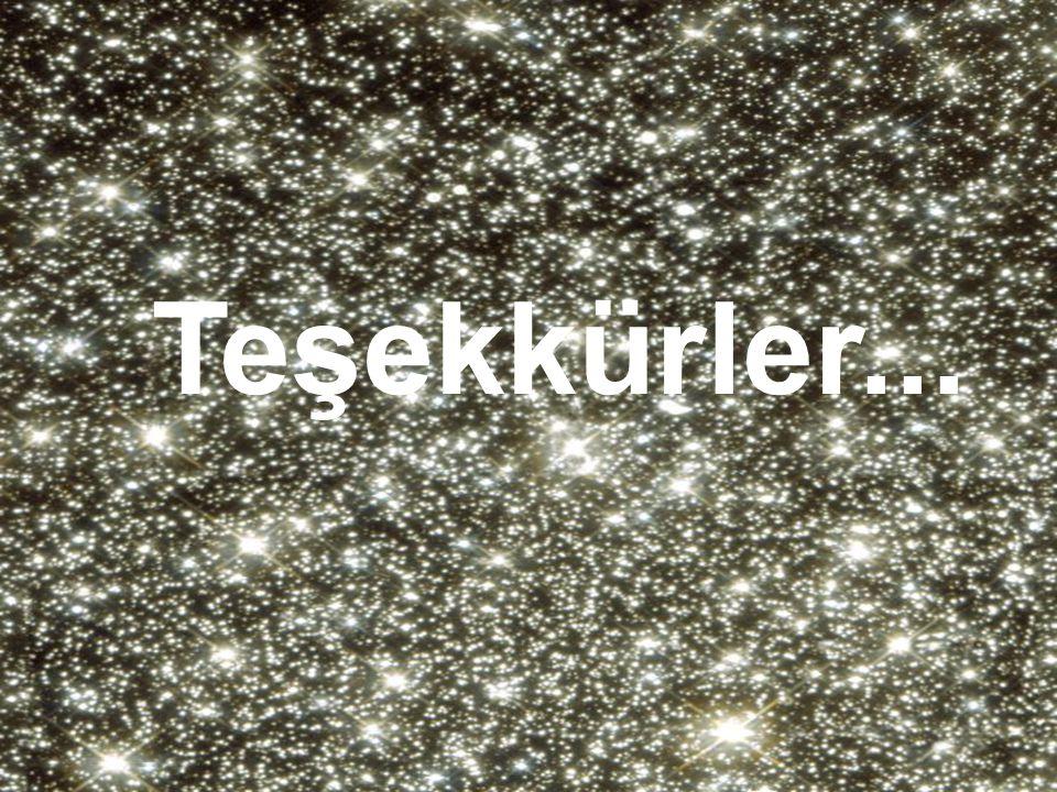 •Yıldız kümeleri. Çok sık. Teşekkürler...