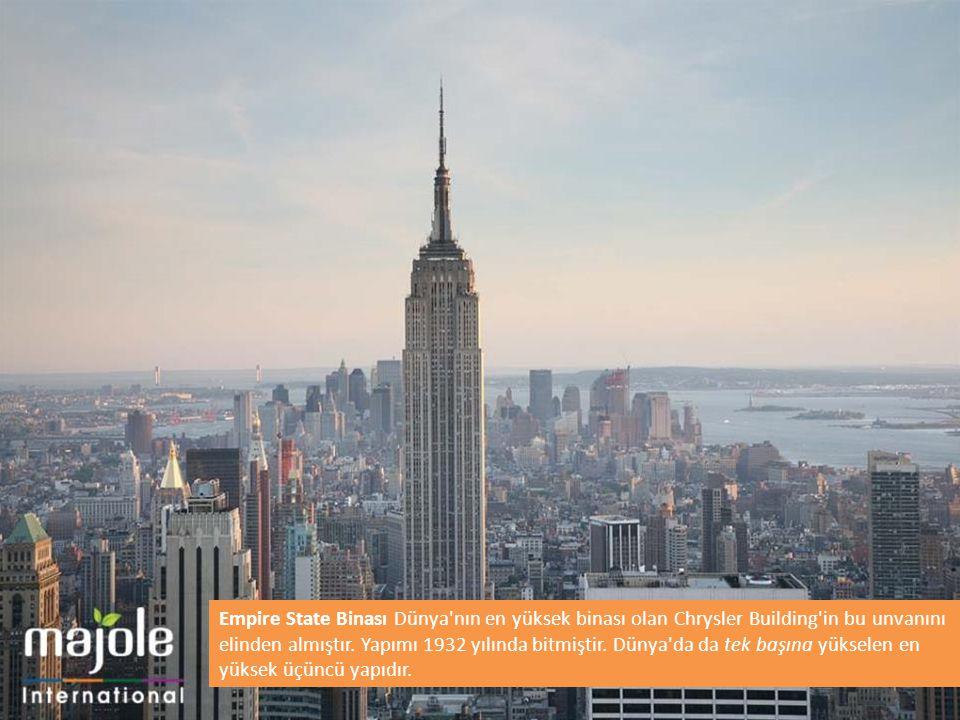 Empire State Binası Dünya nın en yüksek binası olan Chrysler Building in bu unvanını elinden almıştır.