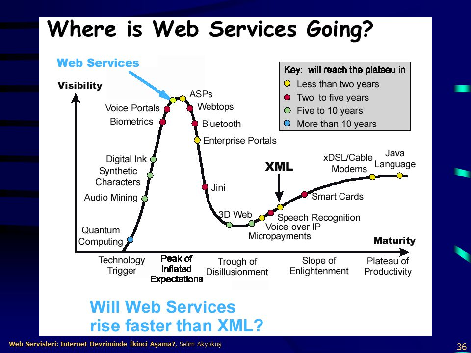 36 Web Servisleri: Internet Devriminde İkinci Aşama?, Selim Akyokuş Web Servisleri: Internet Devriminde İkinci Aşama?, Selim Akyokuş