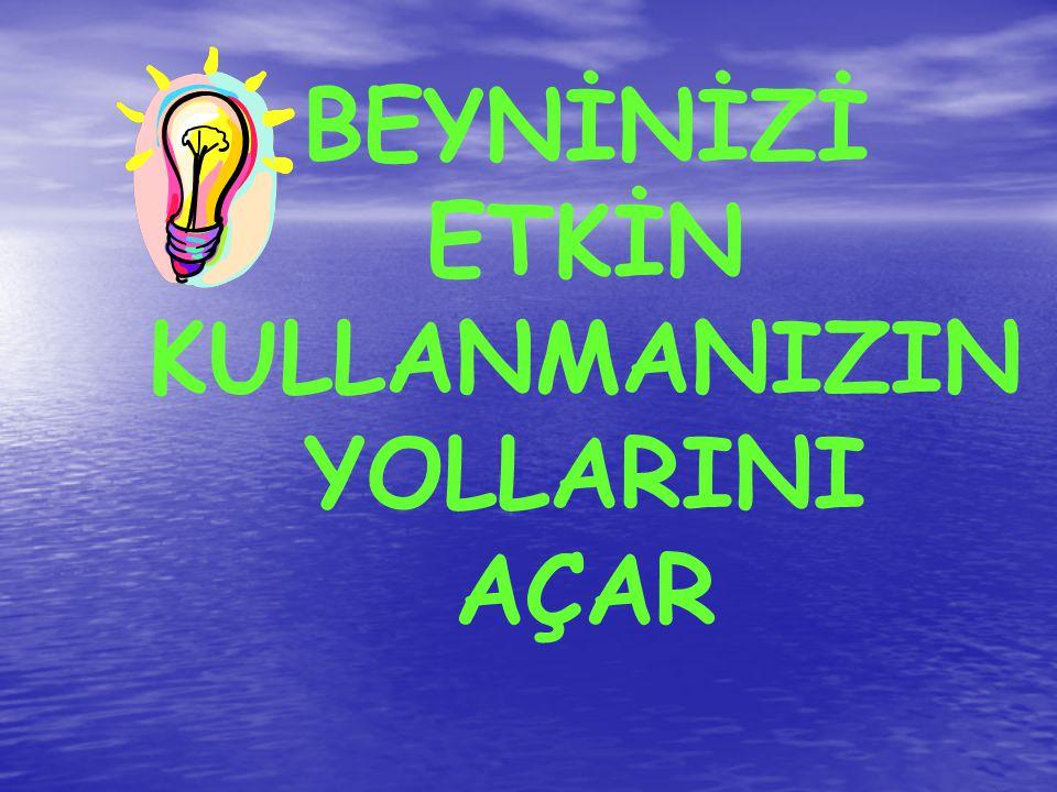 """OLAYLARI BİZİ SINIRLANDIRACAK ŞEKİLDE TEMSİL ETMEK YERİNE, GÜÇLENDİRECEK ŞEKİLDE TEMSİL EDEBİLİRİZ (Ellerinizi kaldırın) """"HER EYLEMİN ATASI DÜŞÜNCEDİR"""