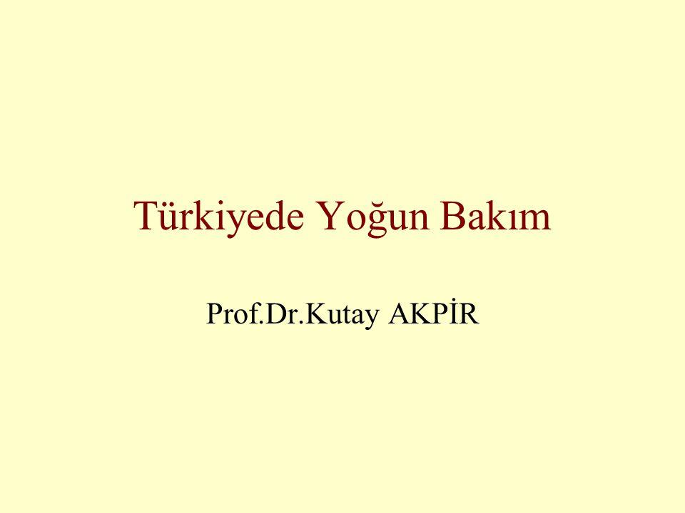 GİRİŞ •Yoğun bakım filozofisi •Niye Anestezistler ilk uygulayanlardır •Niye Avrupa Modeli •Türkiye'de durum (Niye uygulayan/uygulamayan Anestezist var)