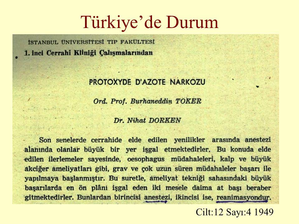 Türkiye'de Durum Cilt:12 Sayı:4 1949