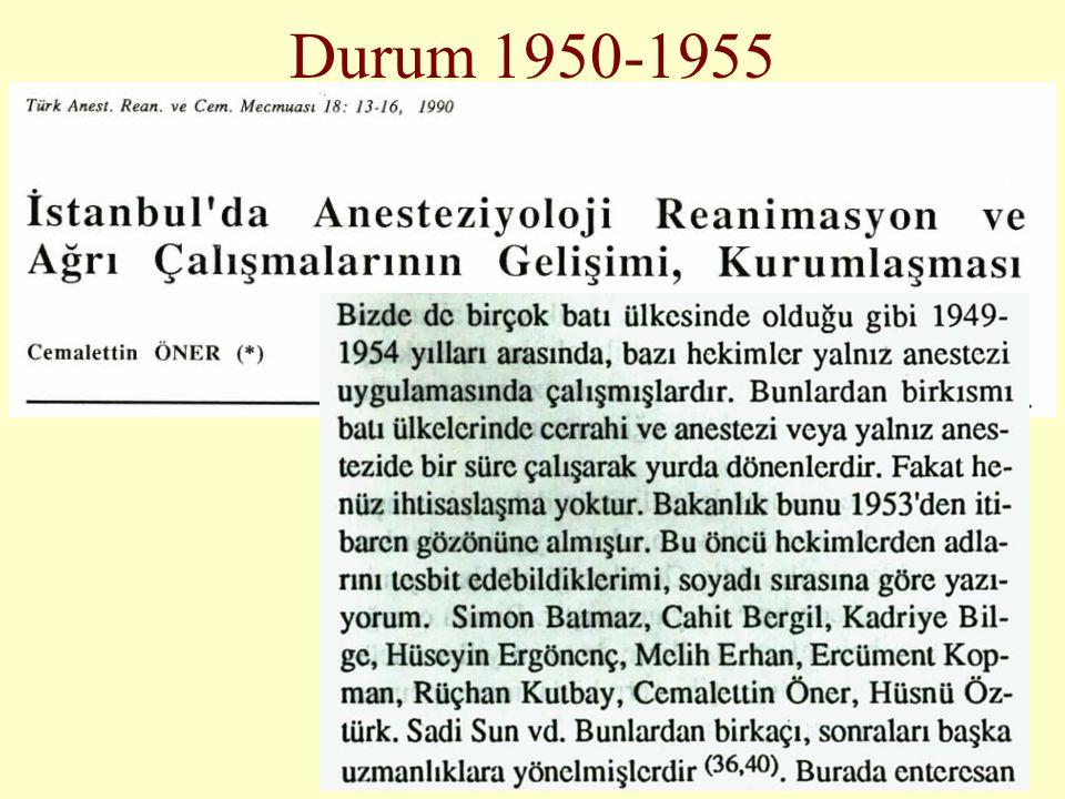 Durum 1950-1955