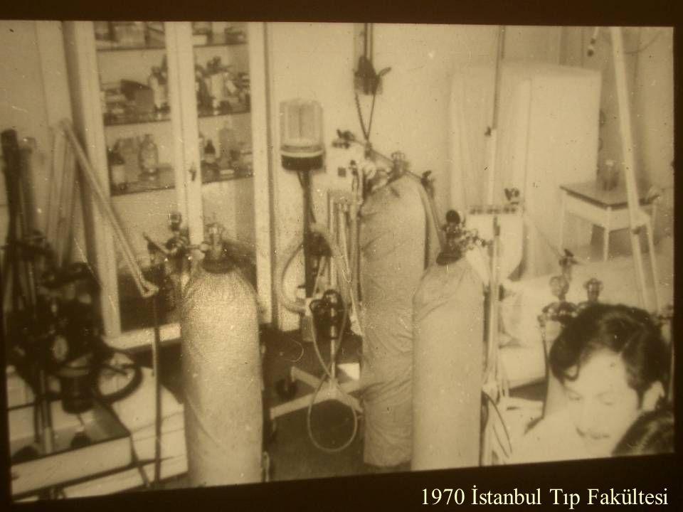1970 İstanbul Tıp Fakültesi