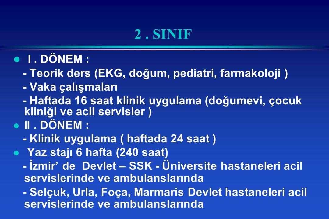2.SINIF l I.