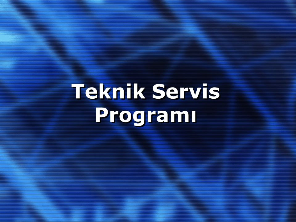 Programın Ana Modülleri 1.Arıza Girişi (Call Center) 2.