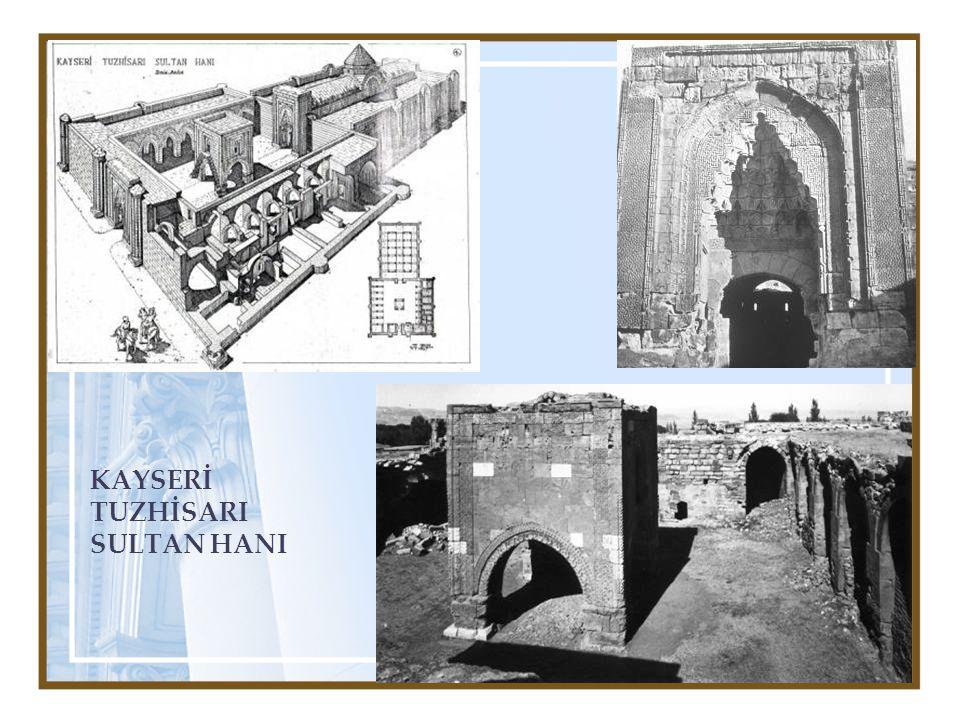 Kervansaraylar ihtiyaçlara göre zamanla gelişerek bugünkü anlamda Otellerin başlangıcını teşkil eden binalar halini almıştır.