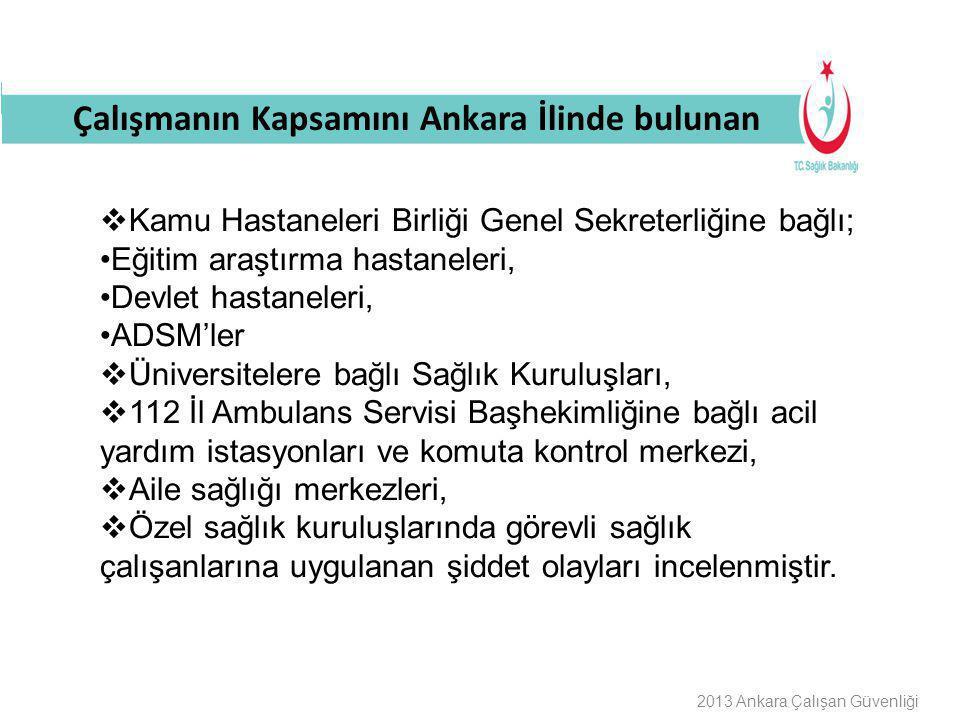 Buraya Bilgilendirme Başlığı Gelecek MAHKEMESİ SONUÇLANAN BEYAZ KOD VAKA ÖRNEĞİ 2013 Ankara Çalışan Güvenliği Ankara 2.