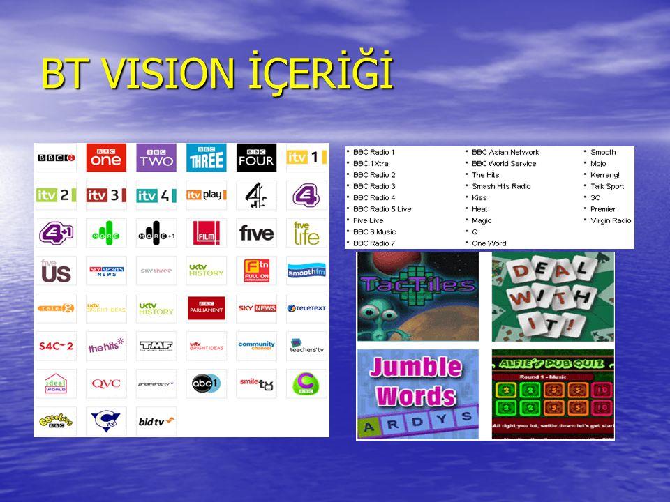 BT VISION İÇERİĞİ