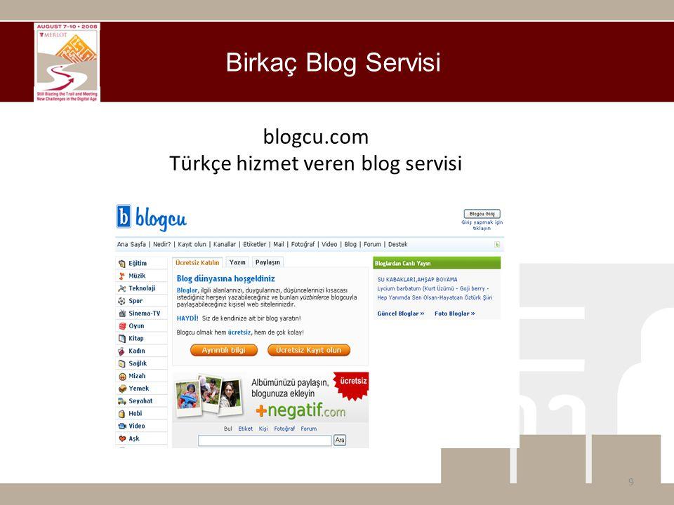 blogcu.com Türkçe hizmet veren blog servisi 9