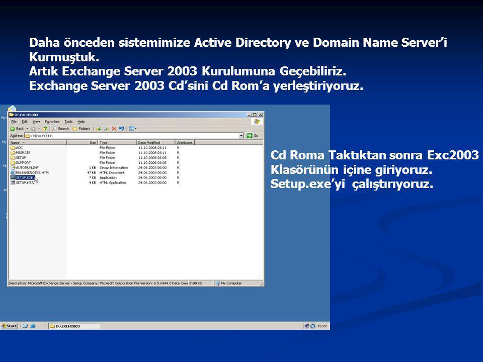 Bu işlemin ardından gelen yeni pencereden Bileşen Seçimi (Component Selection) ekranında Eylem (Action) kısmında Typical yazar.