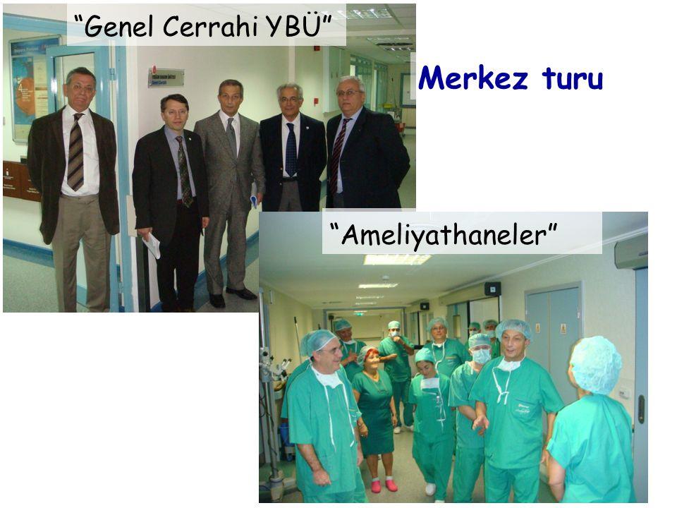 Genel Cerrahi YBÜ Ameliyathaneler Merkez turu