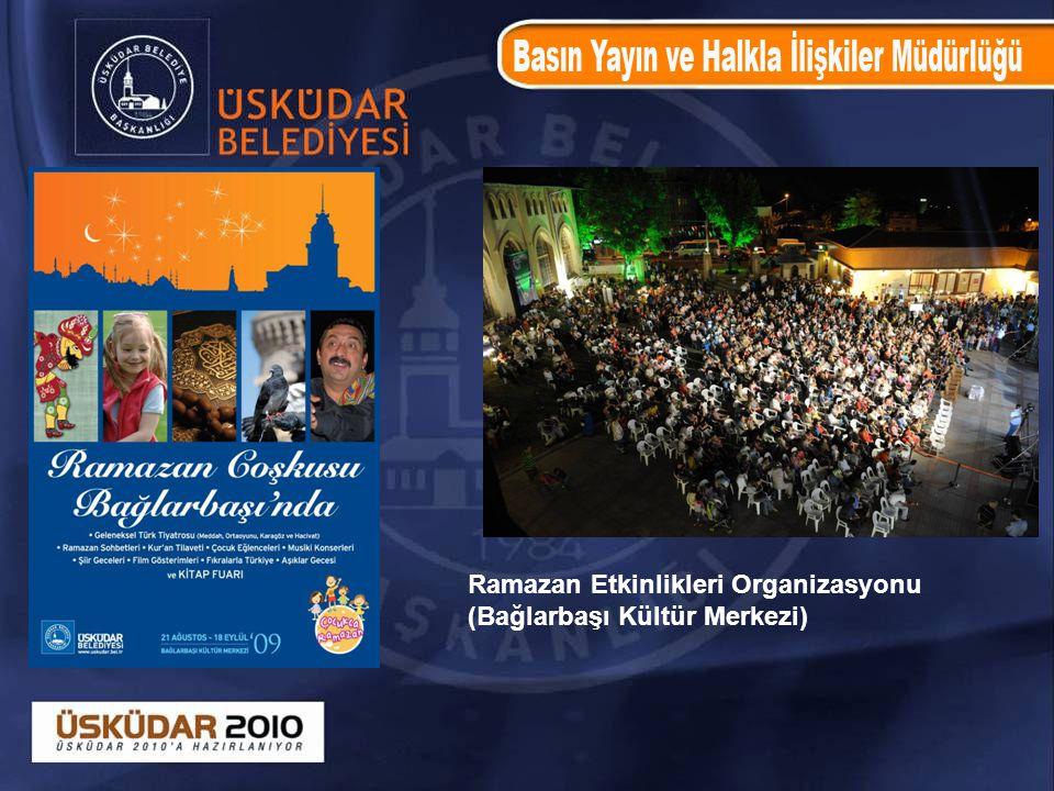 Ramazan Etkinlikleri Organizasyonu (Bağlarbaşı Kültür Merkezi)