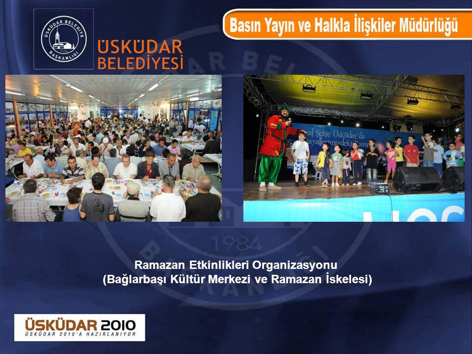 Ramazan Etkinlikleri Organizasyonu (Bağlarbaşı Kültür Merkezi ve Ramazan İskelesi)