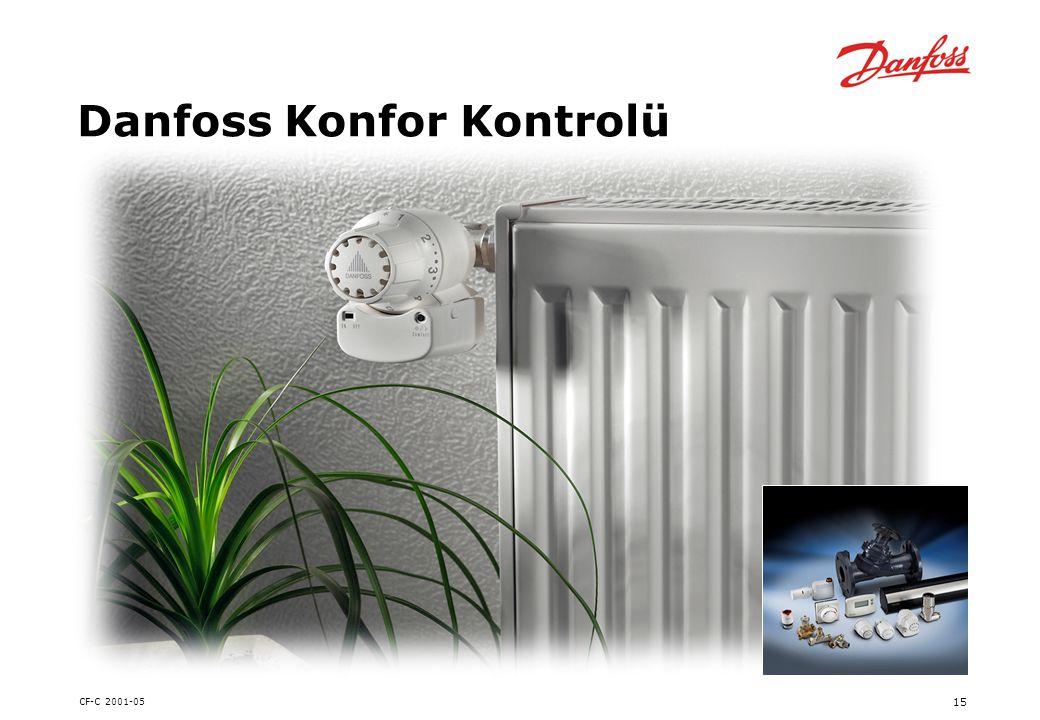 CF-C 2001-05 15 Danfoss Konfor Kontrolü
