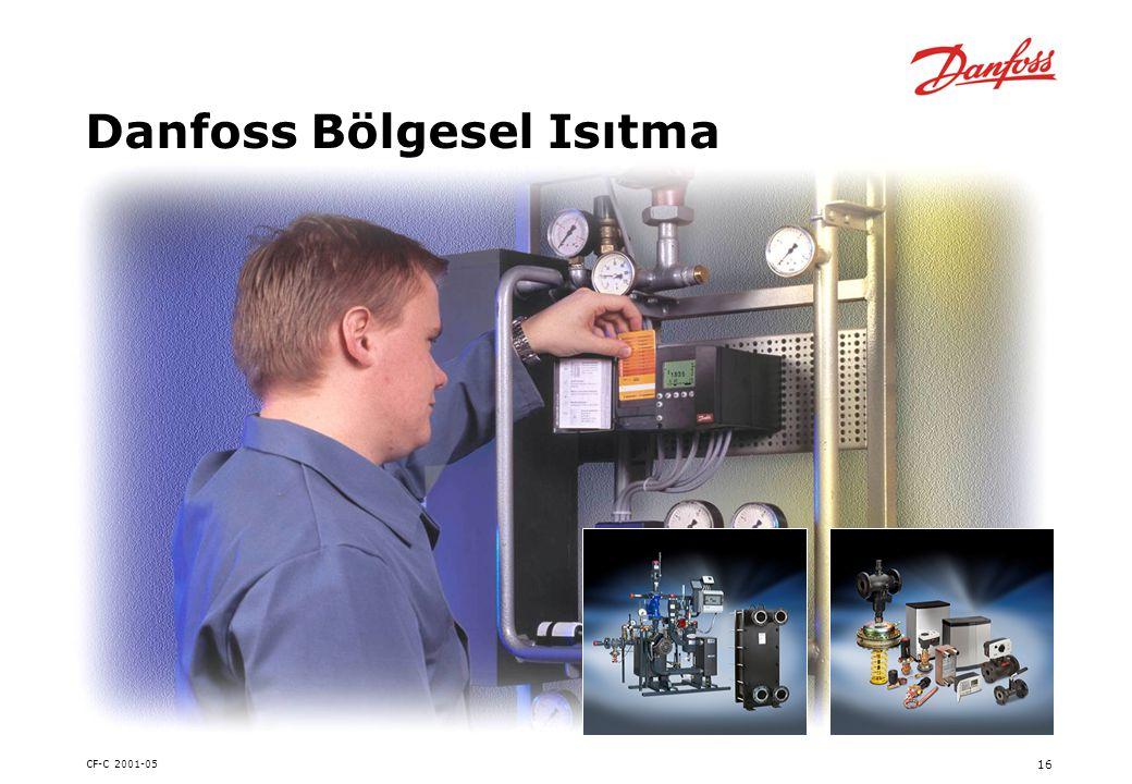 CF-C 2001-05 16 Danfoss Bölgesel Isıtma