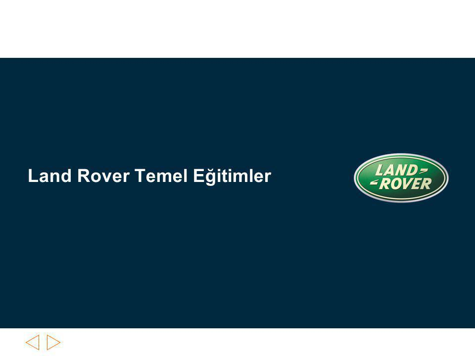 6/29/ :54 PM© Land Rover Presenter / File name Slide 2 Land Rover Temel Eğitimler