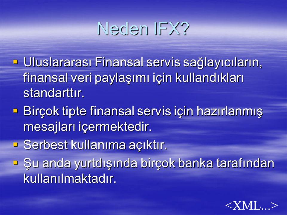 Neden IFX.