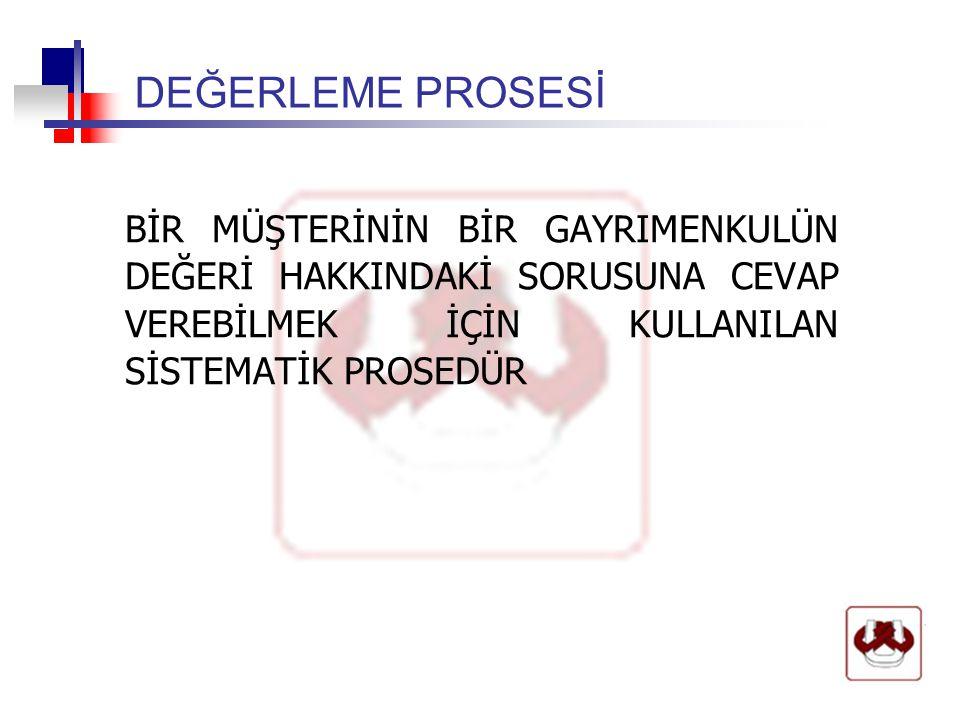 FİZİKSEL KARAKTERİSTİKLER  FİZİKSEL FARKLILIKLAR OLARAK, 1)BİNA BOYUTLARI 2)MİMARİ STİLİ 3)İNŞAAT KALİTESİ 4)YAŞI 5)DURUMU 6)FONKSİYONEL KULLANILILIRLIĞI 7)ARSA ALANI