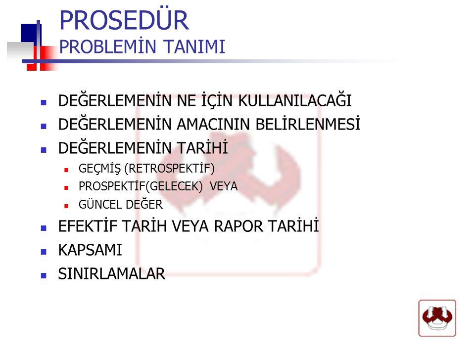 PROSEDÜR GAYRIMENKUL ÖZELLİKLERİ A.