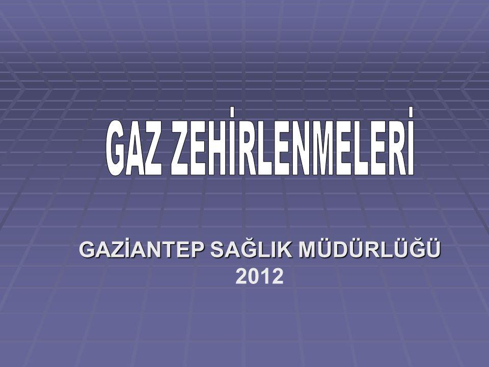 GAZİANTEP SAĞLIK MÜDÜRLÜĞÜ GAZİANTEP SAĞLIK MÜDÜRLÜĞÜ 2012