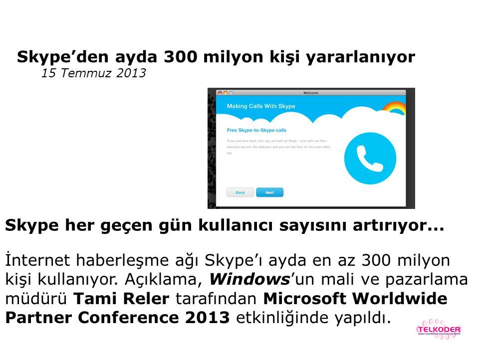 2012 yılı için, tüm dünya uluslararası trafiği 490 Milyar dakika, Skype- Skype trafiği 167 Milyar dakika Skype tüm dünya trafiğinin 1/3'ünü yapıyor