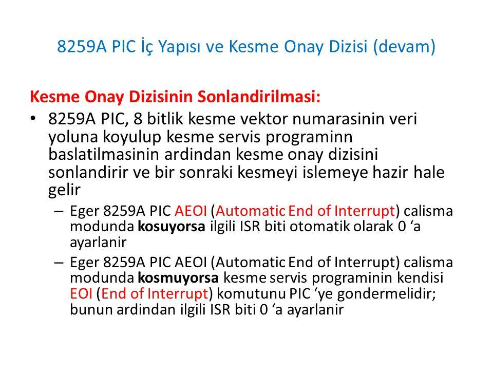 8259A PIC Kaskad Baglanti (Indispensable PC Hardware Book)