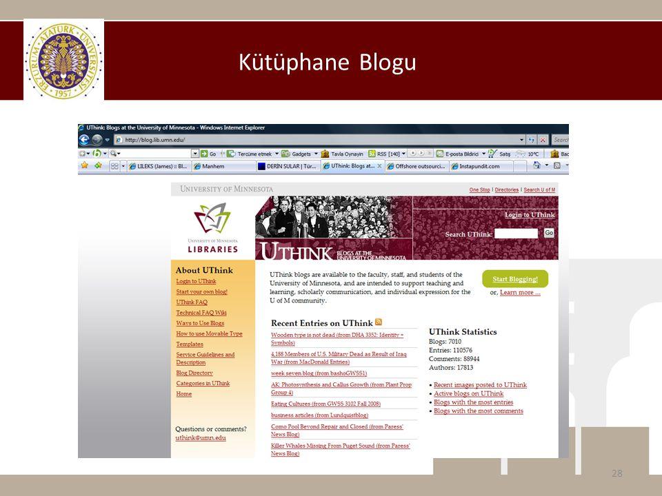 Kütüphane Blogu 28