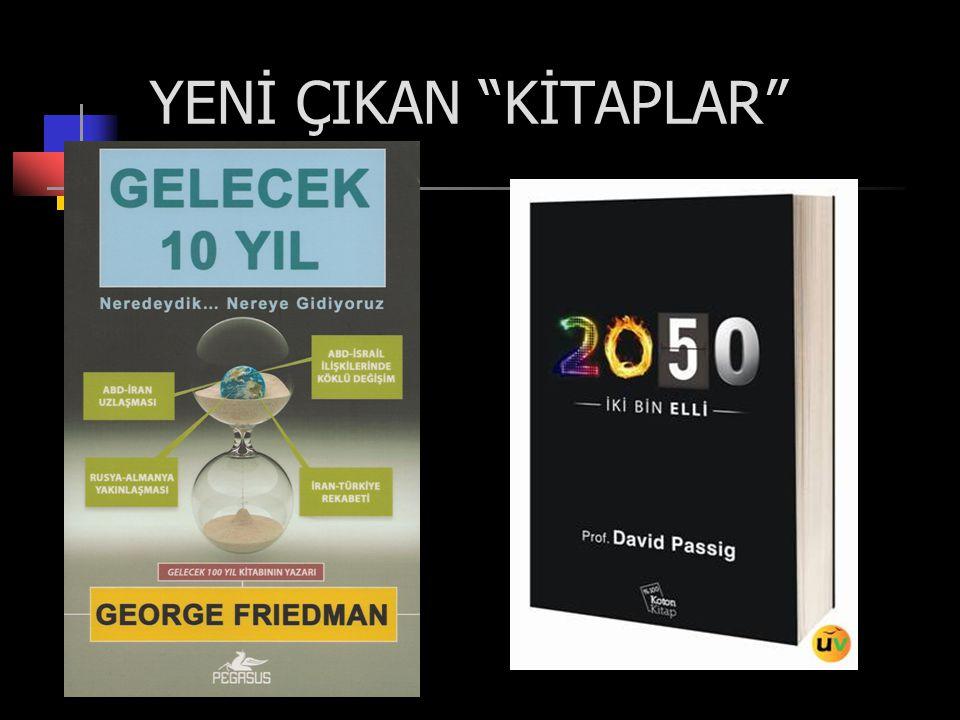 """YENİ ÇIKAN """"KİTAPLAR"""""""