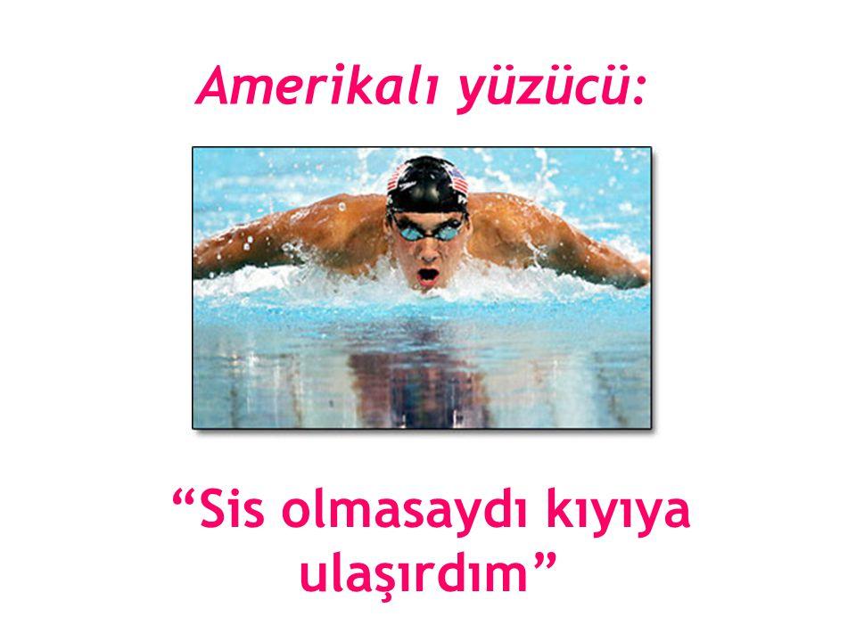 Amerikalı yüzücü: Sis olmasaydı kıyıya ulaşırdım