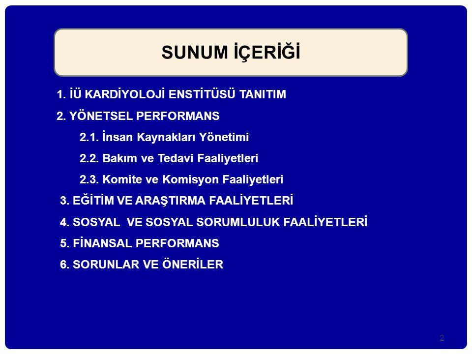 43 Finansal Çalışmadan Çıkarımlar- 5  Kurumumuzda kullanılan İSHOP (İstanbul Üniversitesi Hastaneleri Otomasyon Programı) sistemi hekim odaklı bir sistem olup ; bütün hemşirelik işlevleri işleyen hemşire, isteyen ve yapan hekim (yataktan sorumlu öğretim üyesi) olarak görünüyor.