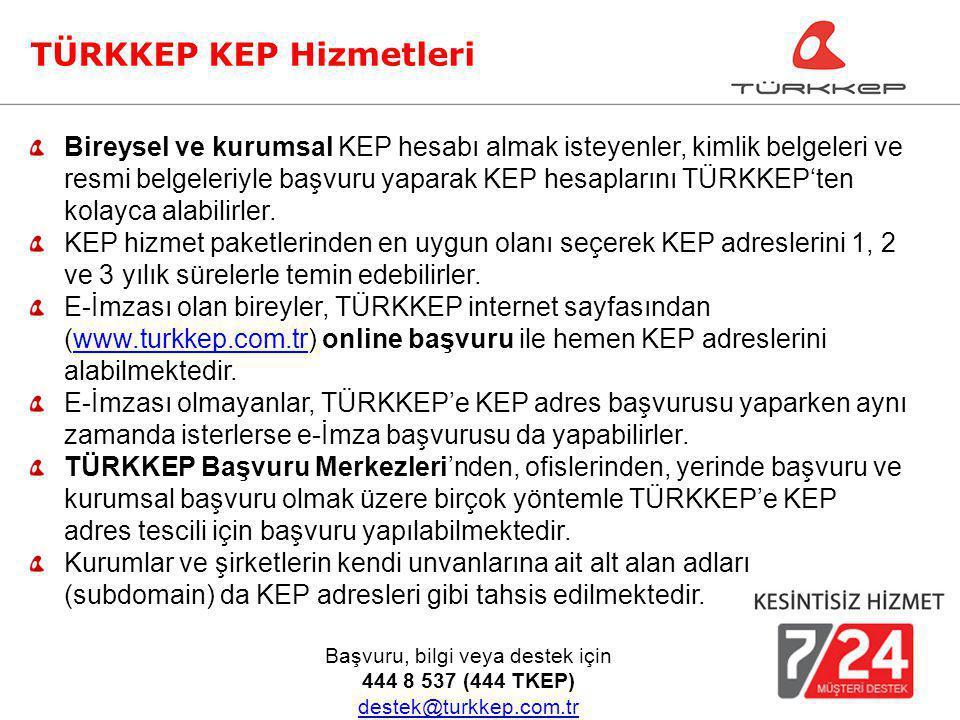 Bireysel ve kurumsal KEP hesabı almak isteyenler, kimlik belgeleri ve resmi belgeleriyle başvuru yaparak KEP hesaplarını TÜRKKEP'ten kolayca alabilirl