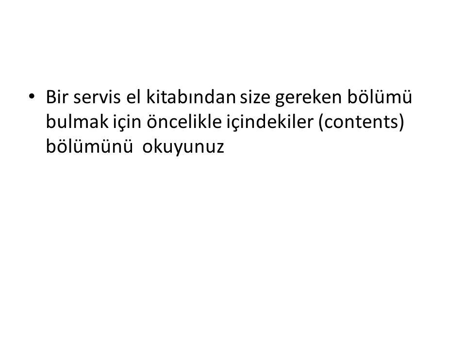 Aşağıdaki örnekleri inceleyerek cümleleri ögelerine ayırınız (fiil (verb) + tamamlayıcı (complement)).