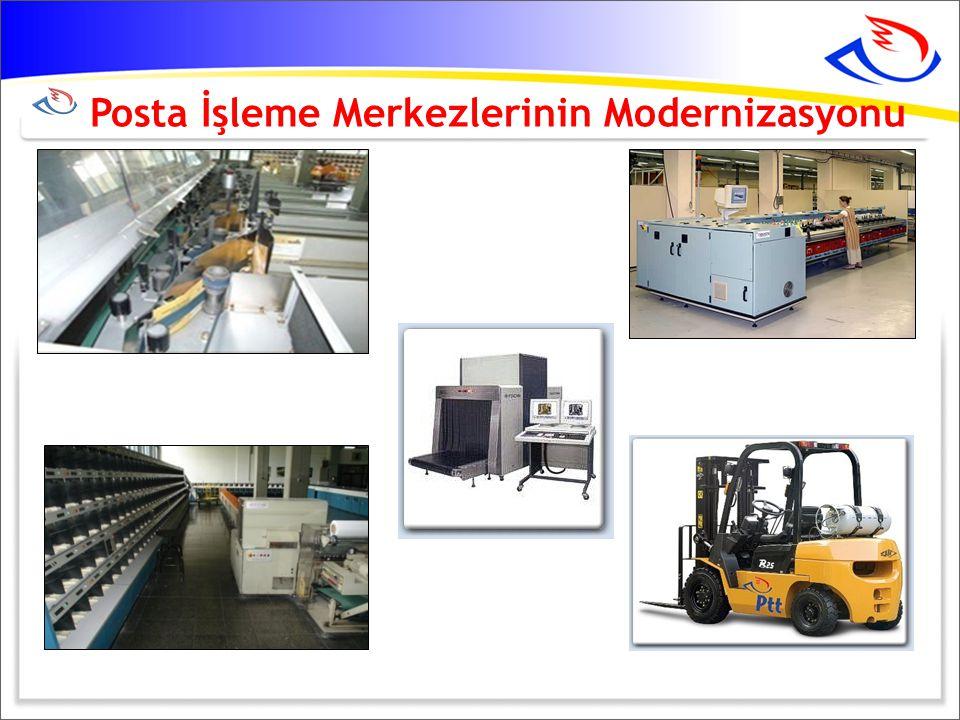 Posta İşleme Merkezlerinin Modernizasyonu