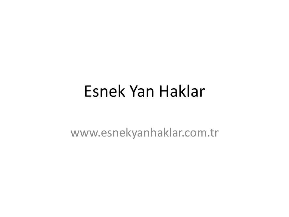 Esnek Yan Haklar www.esnekyanhaklar.com.tr