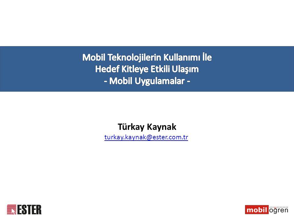 Türkay Kaynak turkay.kaynak@ester.com.tr