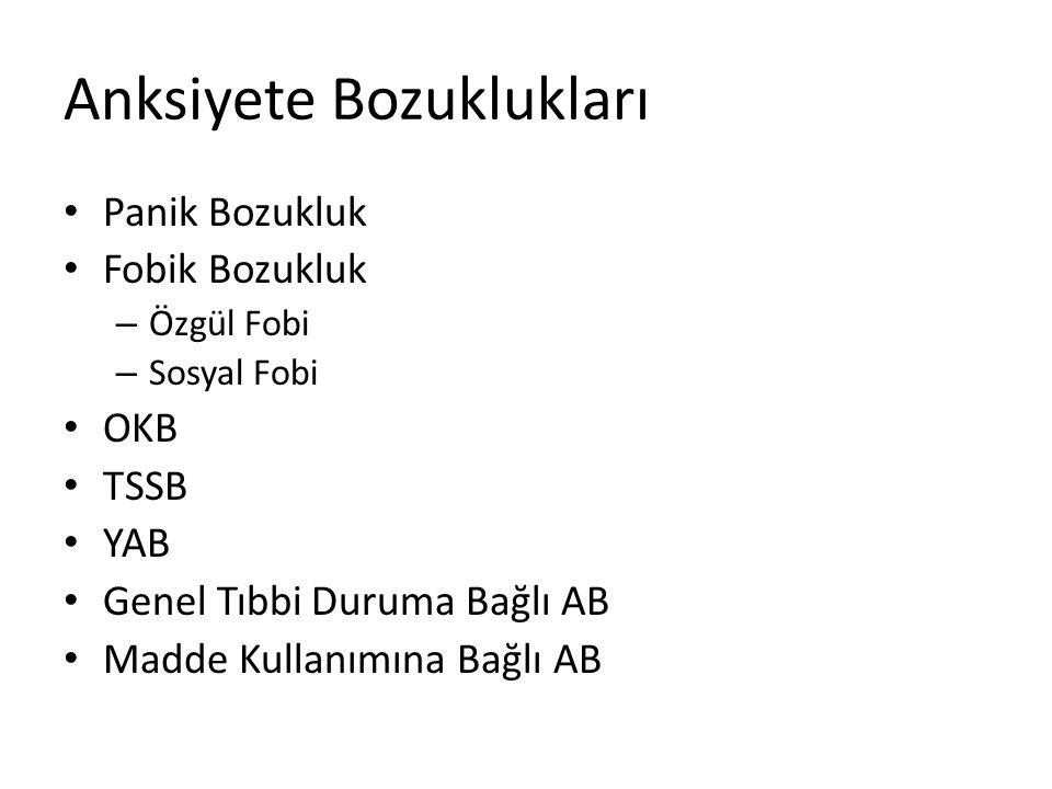 •SB •35 yaşında •Evli •Hemşire •İstanbul'da yaşıyor •10 haftalık gebe Panik Bozukluk Olgu
